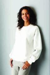 Női kereknyakú pulóver