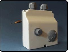 Dupla tokozott termosztát, távérzékelős