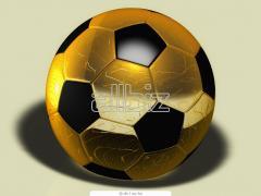 Beltéru futbal labda