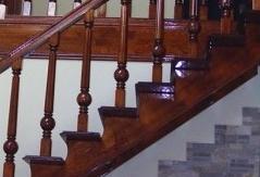 Fa lépcsők