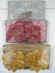 Gyertya Lótuszvirág Glitteres, 2db/ Csomag