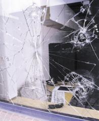 Biztonsági ablakfólia