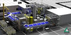 Automata szállítópálya rendszer főtengelyhez