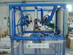 Műanyag megmunkáló célgép