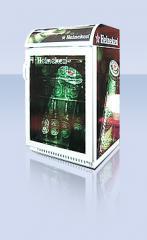 Üvegajtós italhűtő FH-72