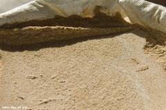 Feeding flour