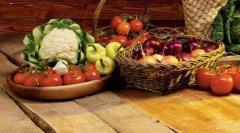 Friss zöldség