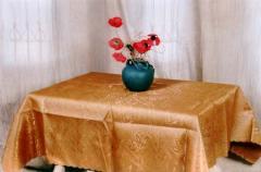 Szatén asztalterítő