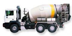 STETTER Transzportbeton mixer