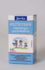 JutaVit Multivitamin Immunkomplex gyerekeknek 45x