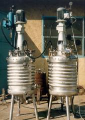 250 literes mélyhűtésű reaktor