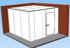 Hűtőkamra NZ 70 150*150*230 padló nélkül.