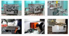 Celofánozó gépek