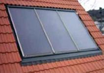 INSOL tetősíkba építhető kollektorok
