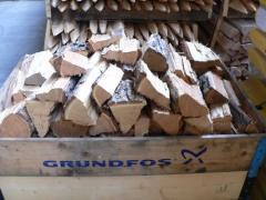 Hasított akác tűzifa