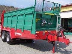MEGAFEX szervestrágya szóró pótkocsi