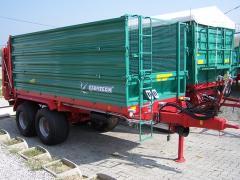 UPERFEX 600-1200, trágyaszóró pótkocsik
