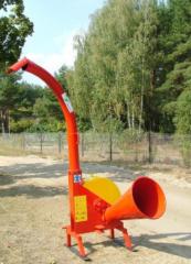 RT 73 traktorüzem mobil fa-aprítógép