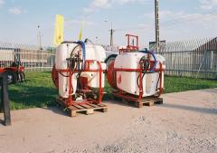 Agromehanika AGP 200 300 400 500 EN Függesztett