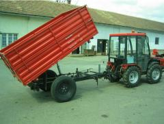 Bagodi BHP 1400 1500 Pótkocsi Adapter (Kommunális célra)