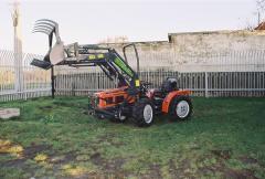 AGROS AN 10 P Homlokrakodó Adapter (Kommunális célra)