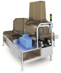 SOCO Pack AHS dobozfelállító gép hotmelt zárással