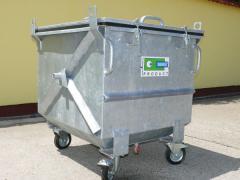 Állati hulladékszállító konténerek
