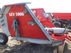 SZV 5000 szárzúzó és fűkasza