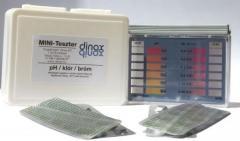 Klór/pH MINI teszter tablettás