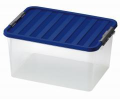 CLIPBOX Tároló doboz zárható tetővel 1605