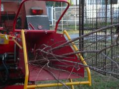 Glo-W10 hidraulikus faaprító gép, traktorfüggesztésű
