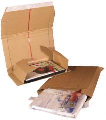 Postai hullámkarton könyvcsomagolók