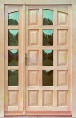 Borovi fenyő bejárati ajtók