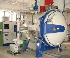 IPSEN VUTK-524 vák uum hőkezelő kemence