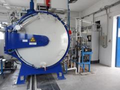 IPSEN Turbo2 Treater vákuum hőkezelő kemence