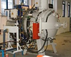 IPSEN VFCK-124 típusú vákuum hőkezelő kemence