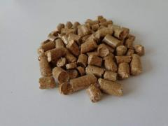 Straw pellet