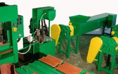 Homok-polimer cserépgyártó gépsor