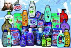 Чистящие средства и детские товары ALPIN WEISS