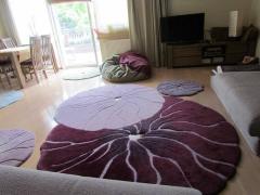 Шерстяные ковры ручной работы от мастерской Millefleur Art Carpet