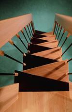 Helytakarékos lépcsők