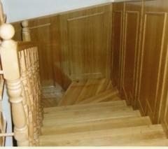 Lépcső fából