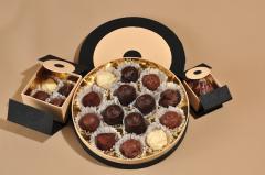 Csokoládé diszdobozban