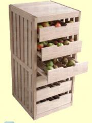 Gyümölcs tároló szekrény