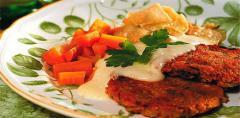 Vegetáriánus fasírtporok