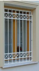 Kovácsoltvas ablakrács
