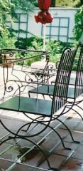 Kovácsoltvas szék