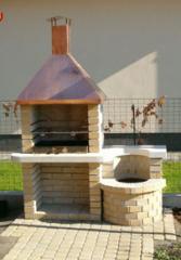 Kerti grillsűtő
