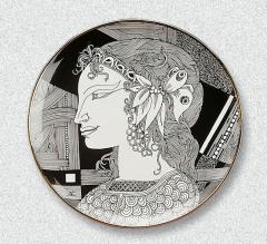Porcelán falitányérok