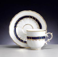 Porcelán tea csésze + alj